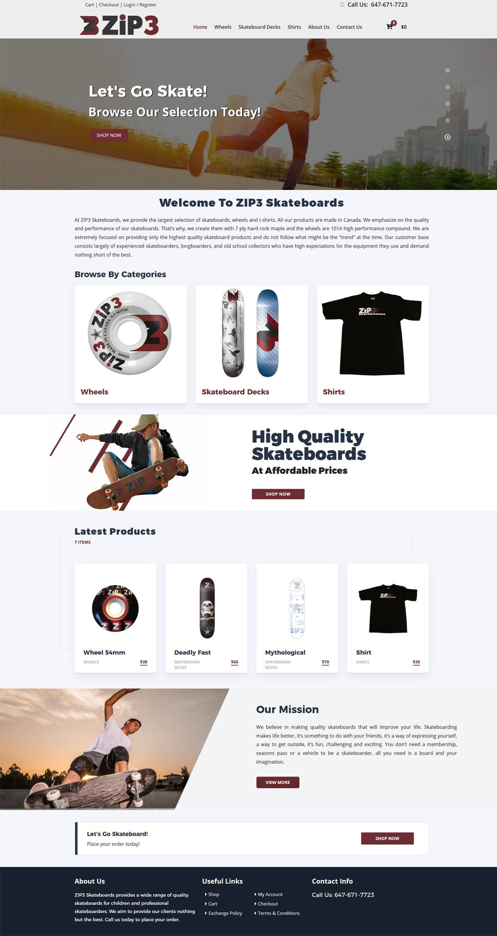 ECommerce Website Design Mississauga